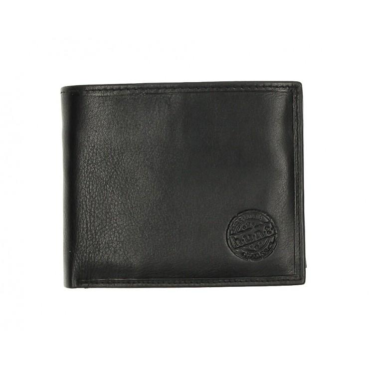 Pánska kožená peňaženka 238 čierna
