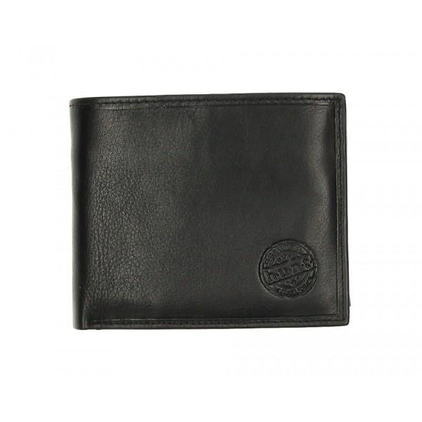 Pánska kožená peňaženka 238 čierna Čierna
