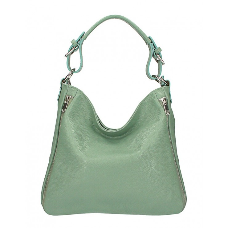Leather shoulder bag 390 mint