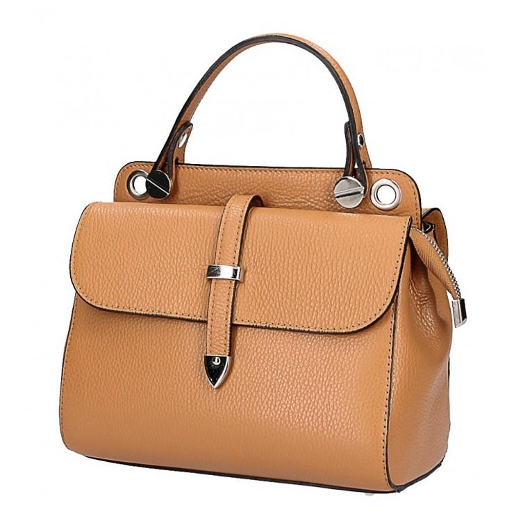 Koňaková talianska kožená kabelka 5315