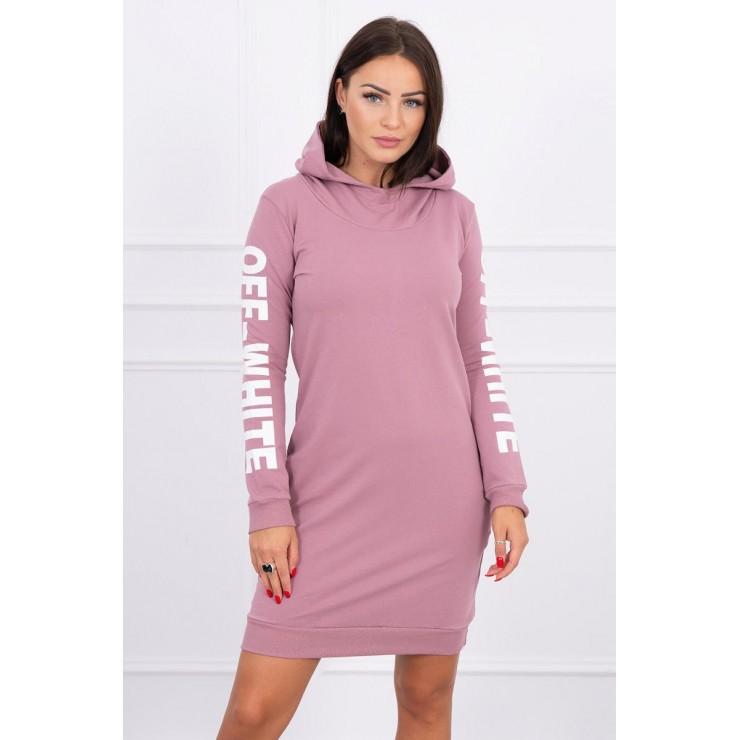 Šaty Off White MI62072 růžové