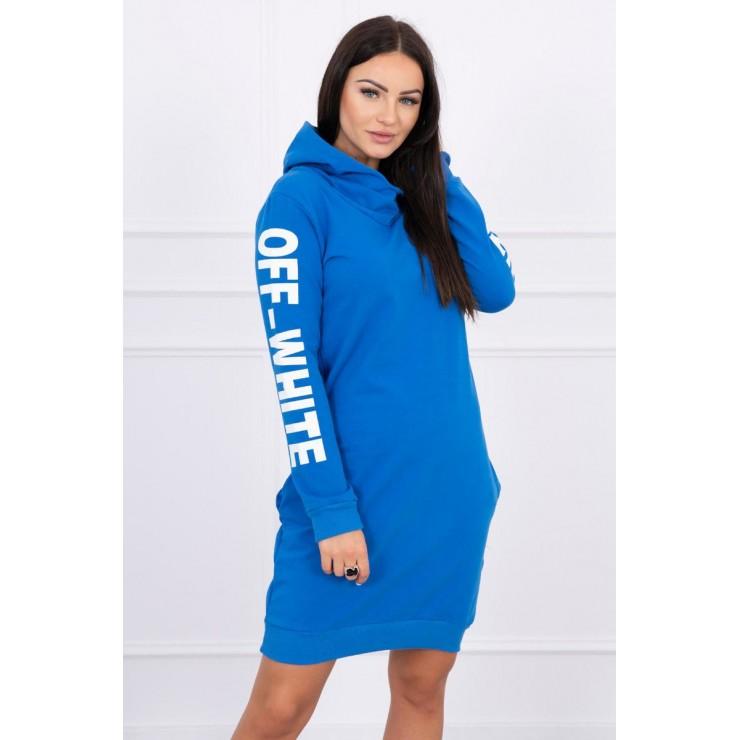 Šaty Off White MI62072 modré