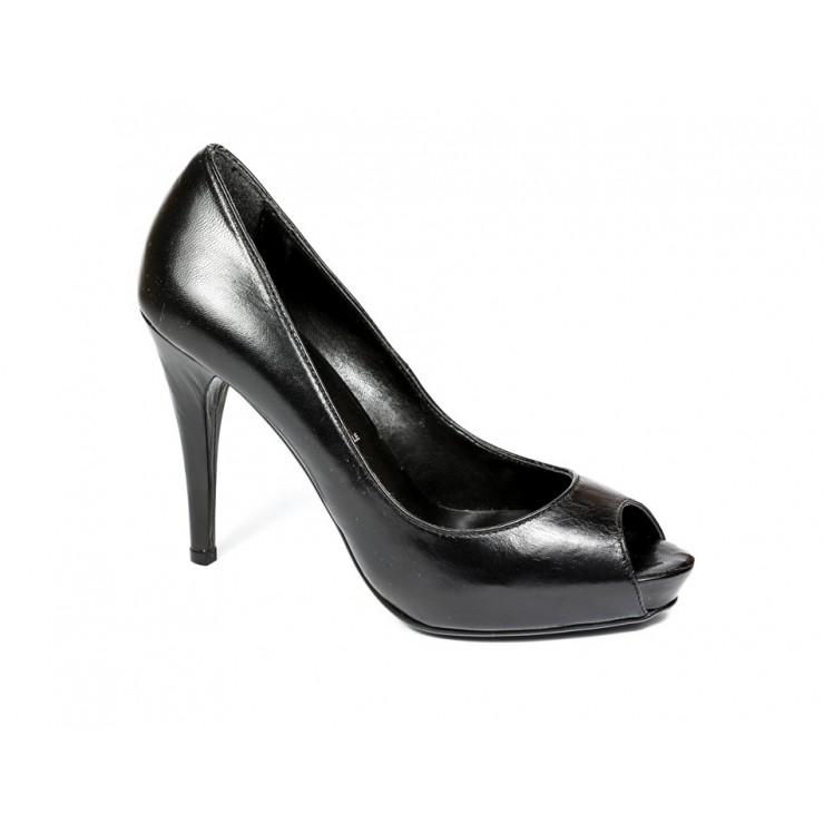 Woman high heels 185 black Barbara Renzi