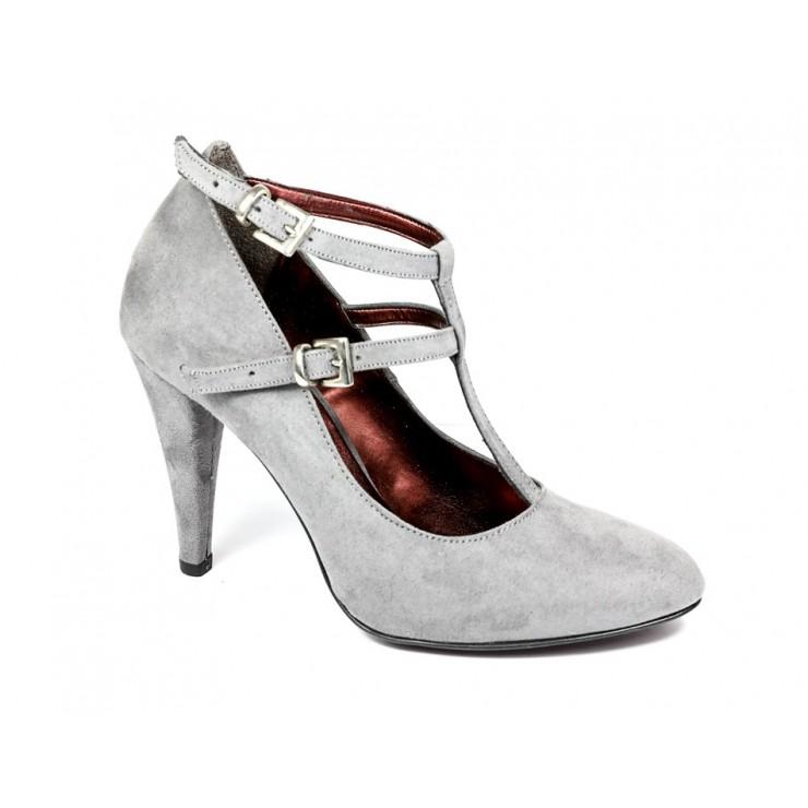 Woman high heels 189 gray Pret a Porter