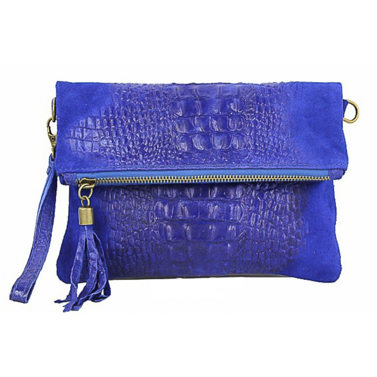 Small Pochette with strap 630 bluette
