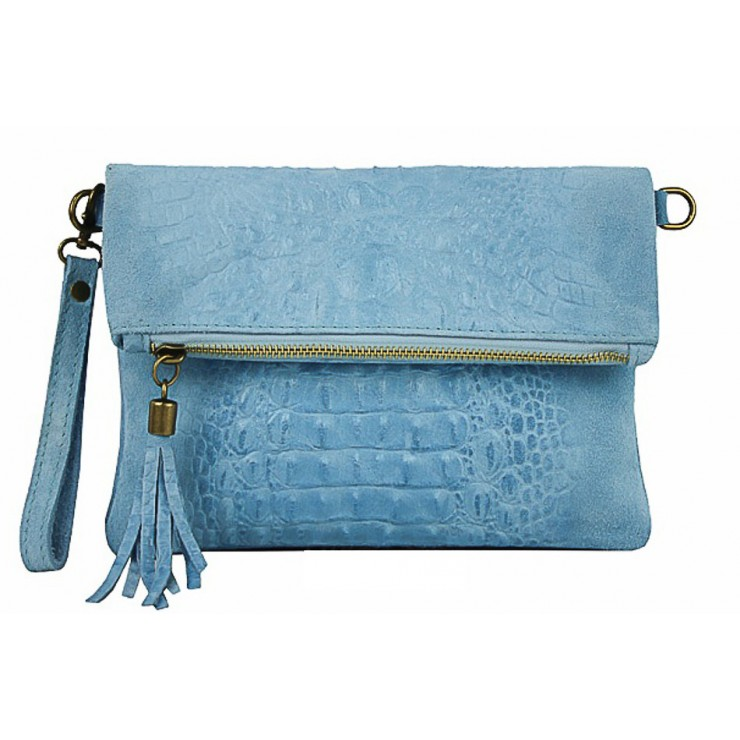 Small Pochette with strap 630 light blue