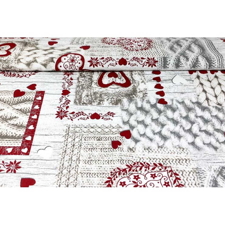 Dekoračná látka Bavlna pletenie