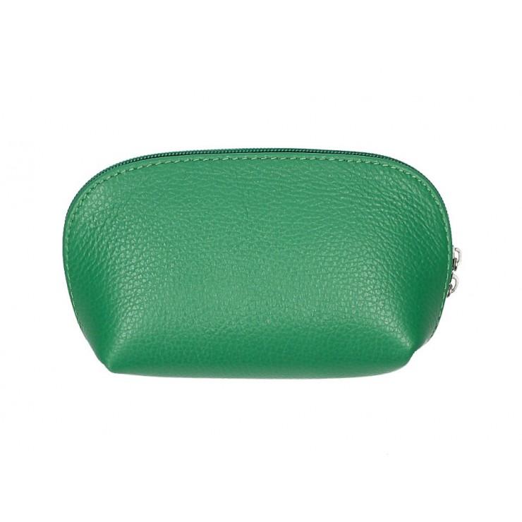 Kožené pouzdro 593 zelené Made in Italy