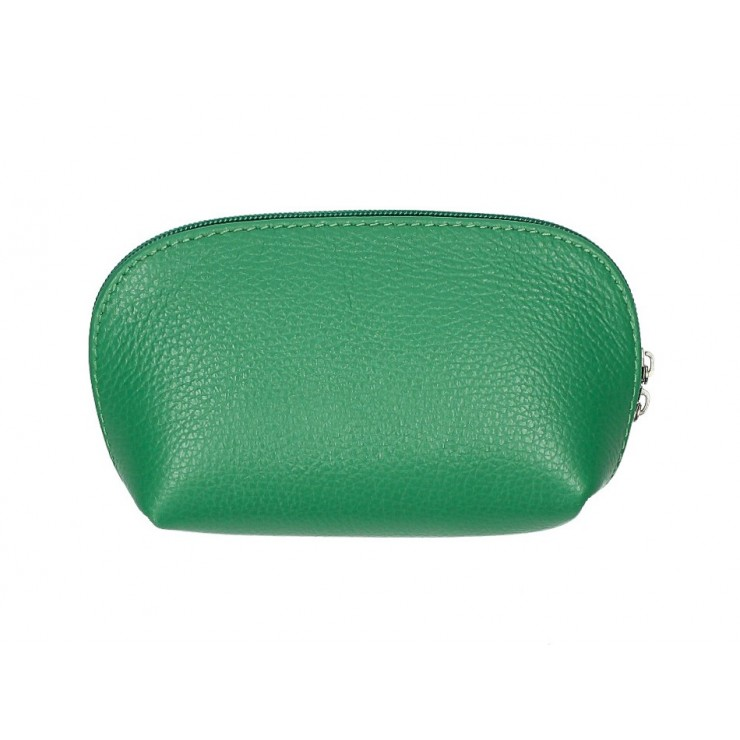 Kožené púzdro 593 zelené Made in Italy