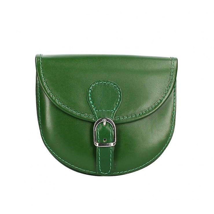 Talianska kožená kabelka 116B zelená