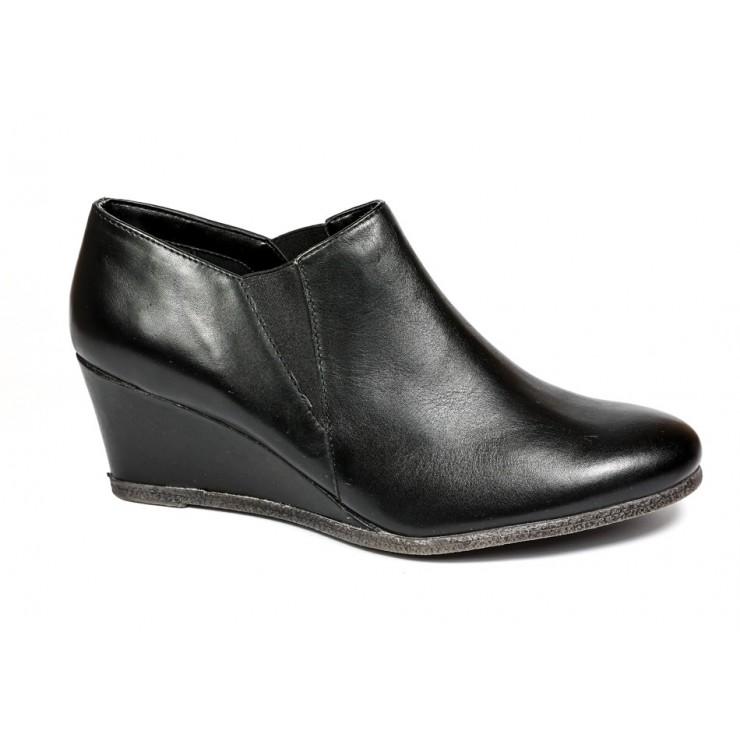 Dámska kožená obuv na klíne 1007 The Flexx