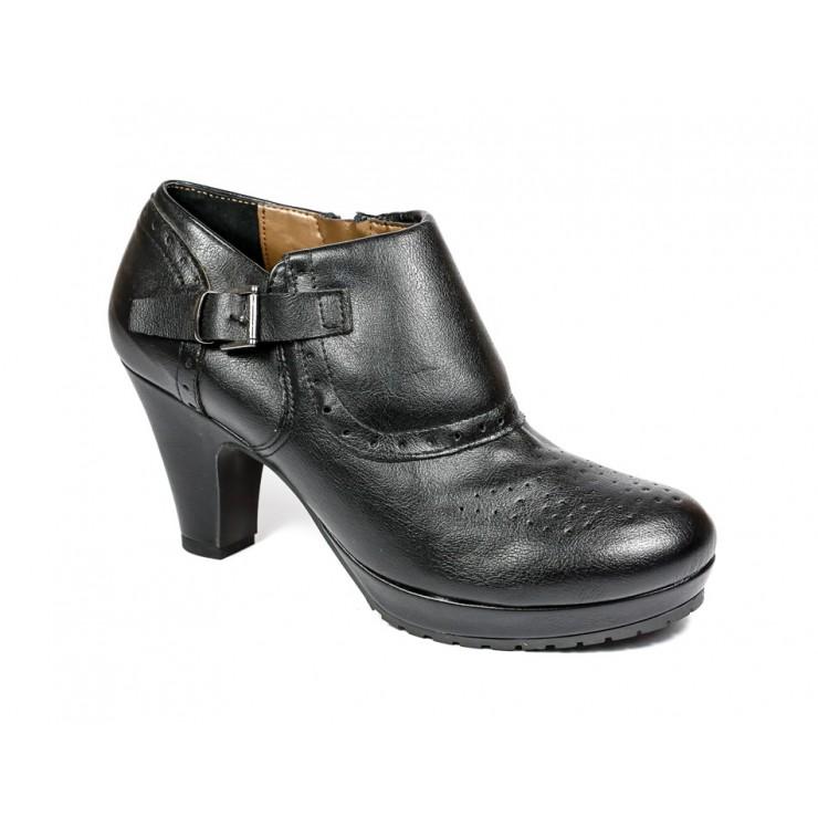 Women's shoes 777 black Elisa Morelli