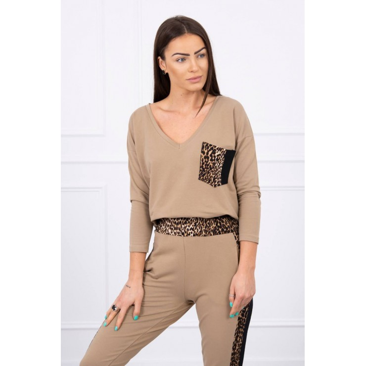 Women's set Panther MI0068 camel