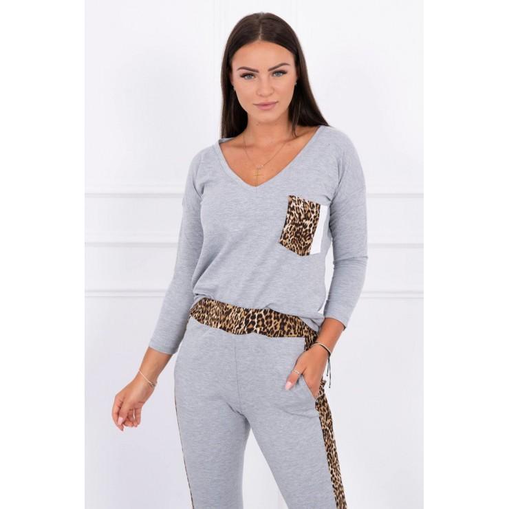 Women's set Panther MI0068 gray