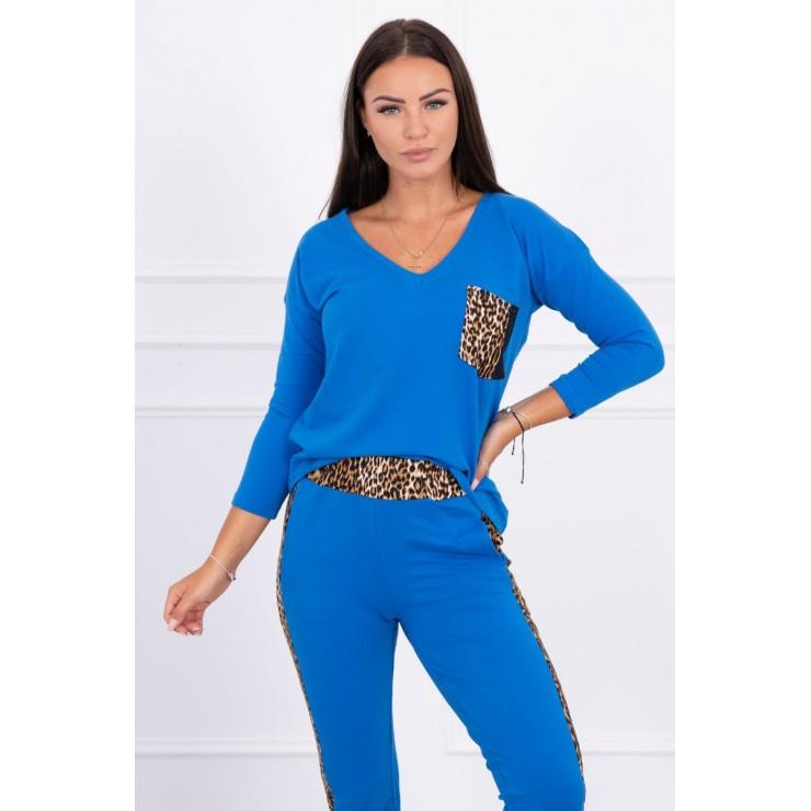 Women's set Panther MI0068 azure blue