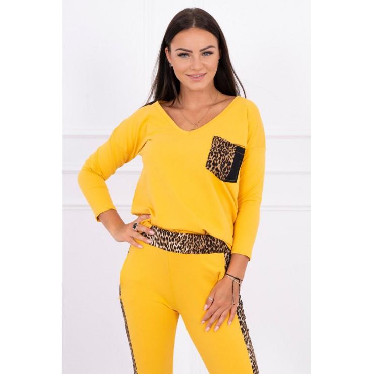 Women's set Panther MI0068 mustard