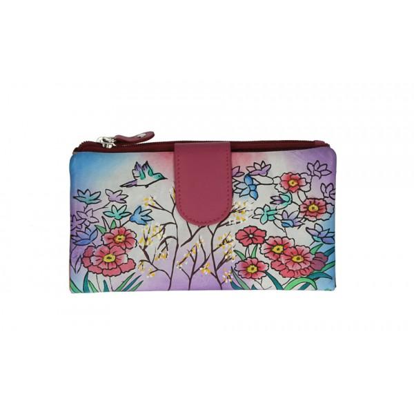 Dámska kožená peňaženka 272 fuchsia Fuchsia