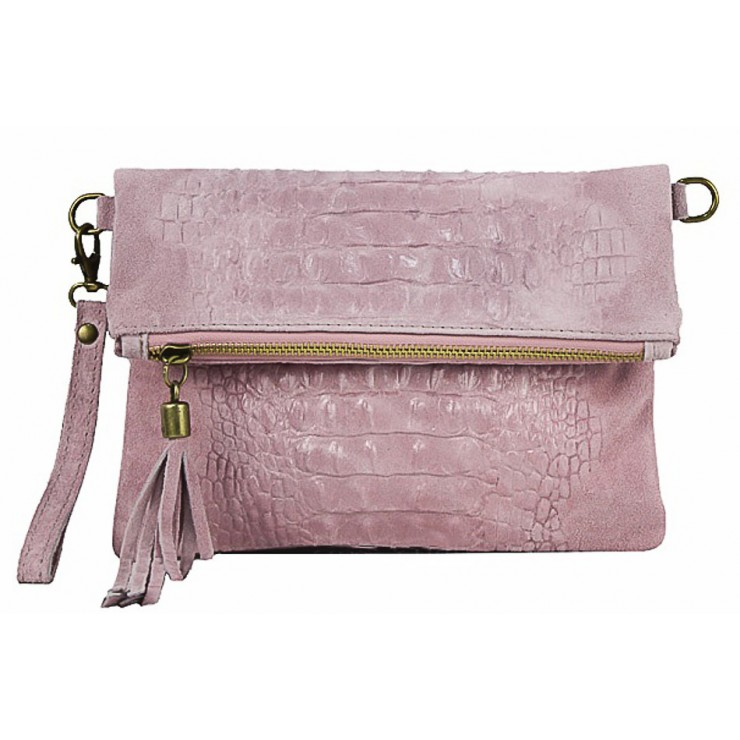 Small Pochette with strap 630 pink
