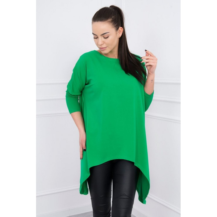 Women's extended tunic MI8875 green