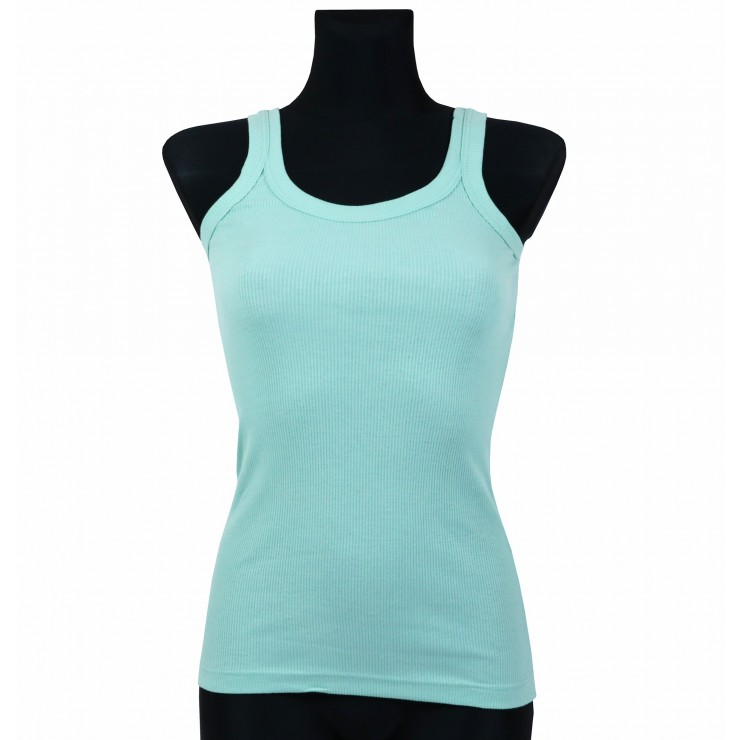 Women T-shirt 964 green Solo Soprani