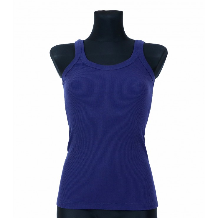 Women T-shirt 964 blue Solo Soprani