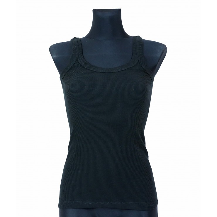 Women T-shirt 964 black Solo Soprani