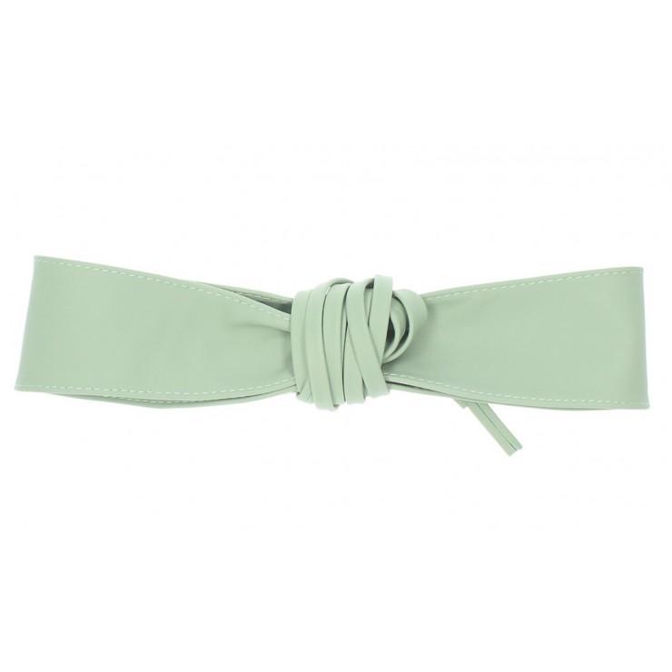 Genuine Leather sash belt 839 mint