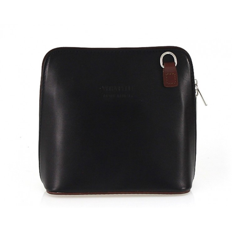 Dámska kabelka 921 čierna + hnedá