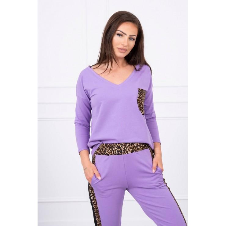 Women's set Panther MI0068 purple
