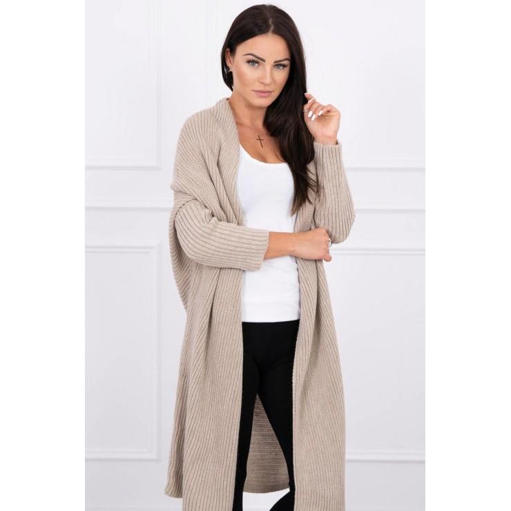 Sweater with sleeves bat type MI2019-16 beige