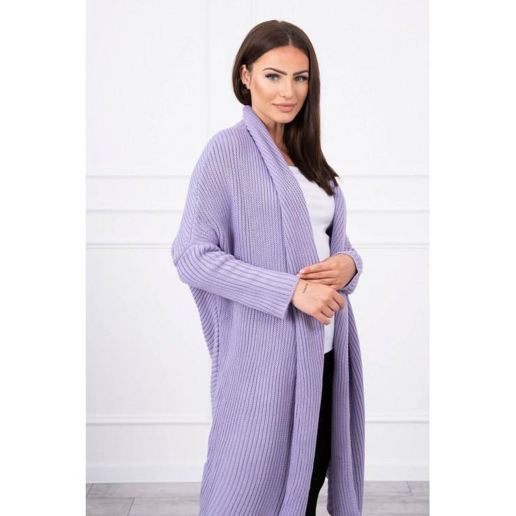 Sweater with sleeves bat type MI2019-16 purple