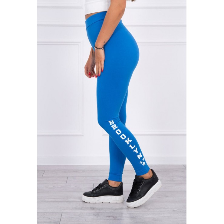 Woman leggings Brooklyn MI8882 blue