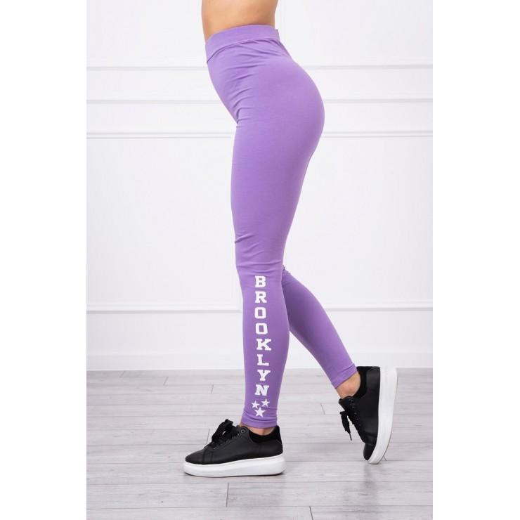 Woman leggings Brooklyn MI8882 purple