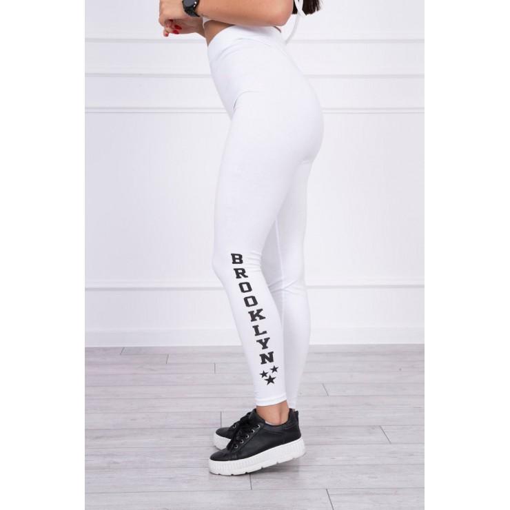 Woman leggings Brooklyn MI8882 white