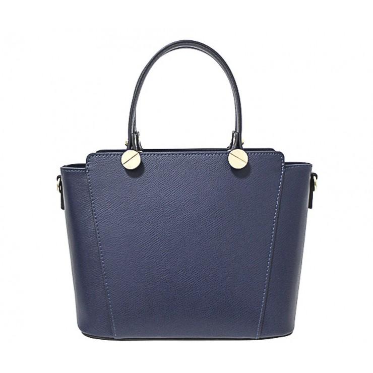 Kožená kabelka 1461 modrá