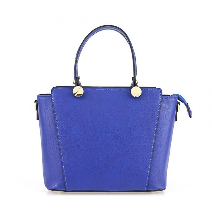 Kožená kabelka 1461 azurovo modrá