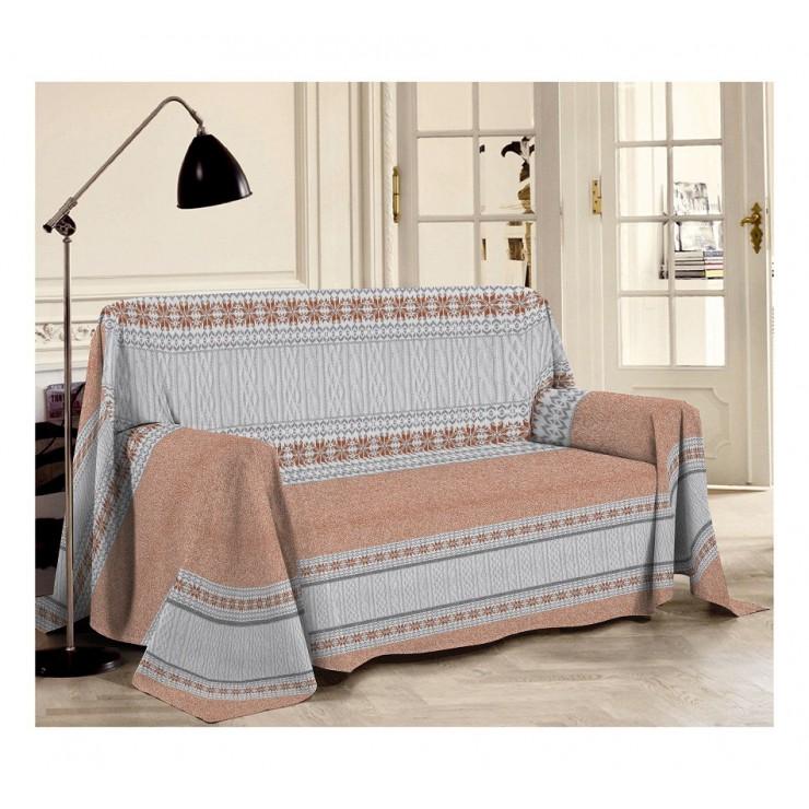 Blanket on the couch Trikot orange