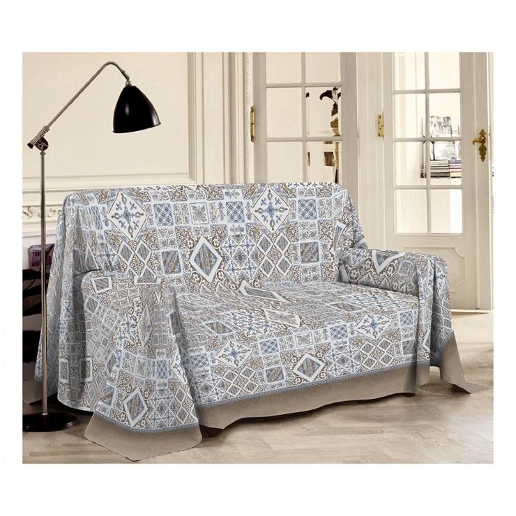 Prikrývka na gauč Majolika béžová Made in Italy