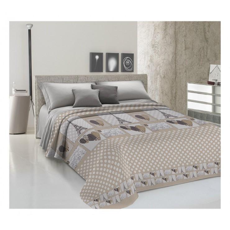 Bedcover Piquet Paris beige