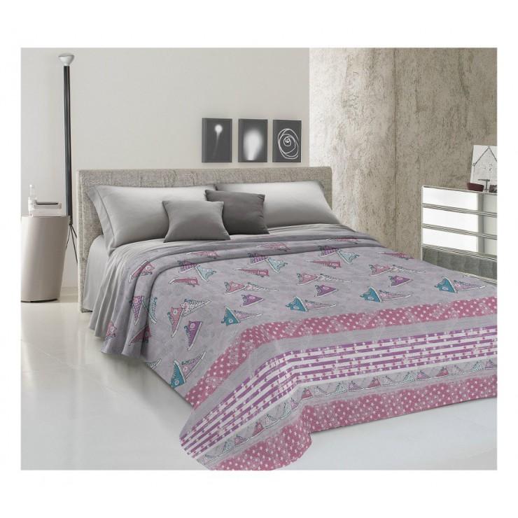 Bedcover Piquet Sneakers pink
