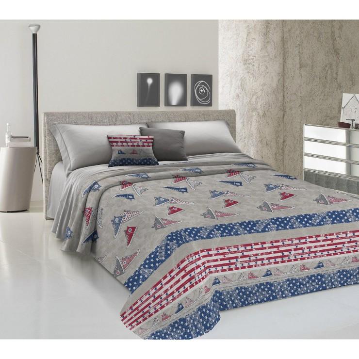 Bedcover Piquet Sneakers blue