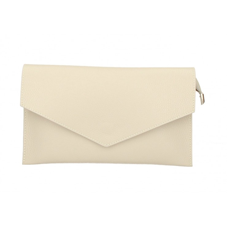 Genuine Leather Handbag 121 beige