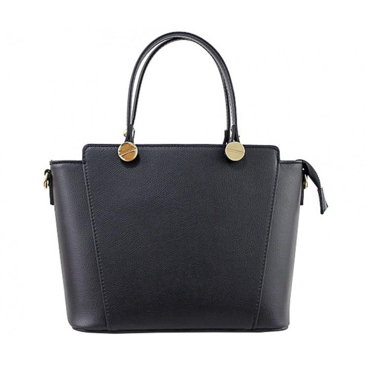 Kožená kabelka 1461 černá