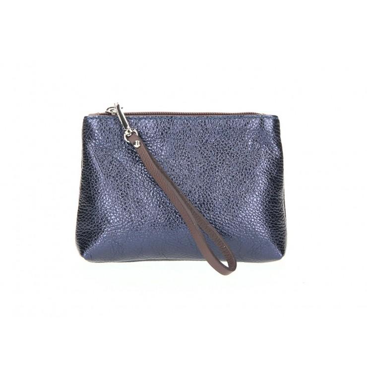 Kožené pouzdro 285 modré Made in Italy