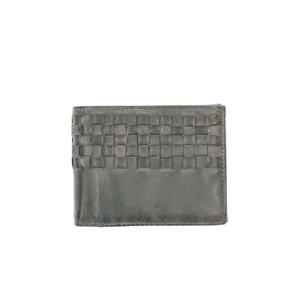 Pánska kožená peňaženka 286 šedá Cotton Belt Šedá