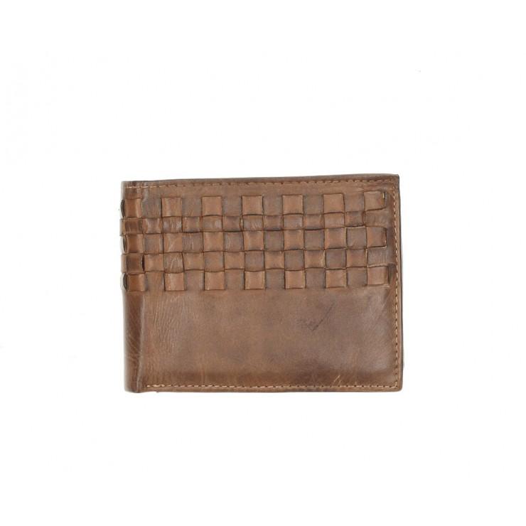 Pánská kožená peněženka 286 hnědá Cotton Belt