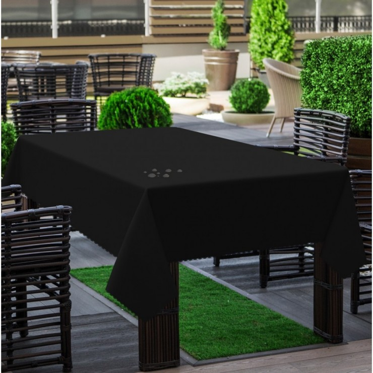 Garden tablecloth 290 black