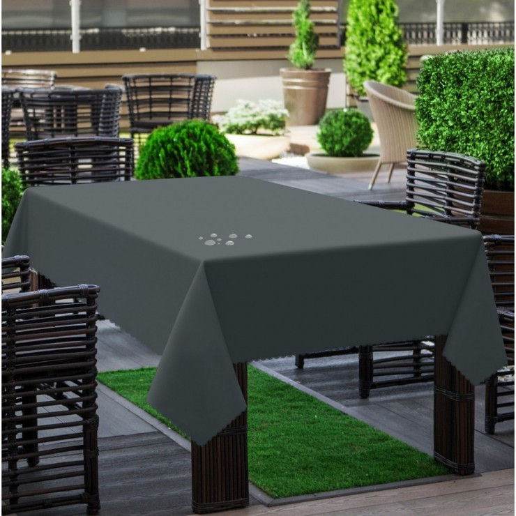 Garden tablecloth 290 graphite