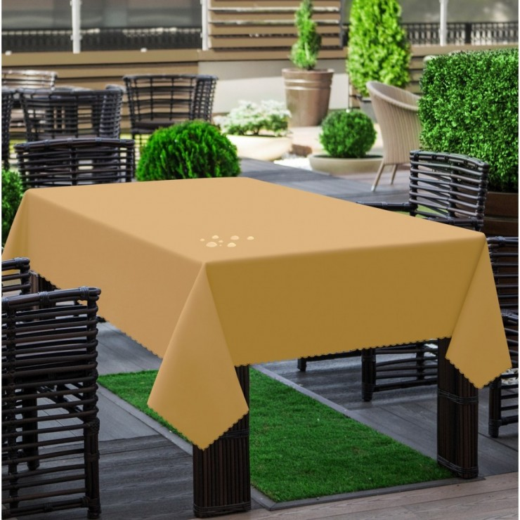 Garden tablecloth 290 latte
