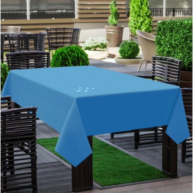 Obrus záhradný 290 blankytne modrý